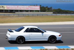 Phillip Island SAU & WRX - Nissan R32 GTR Turn 1