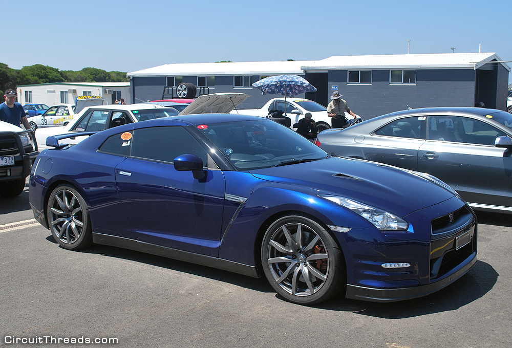 Phillip Island SAU & WRX - Blue R35 GTR