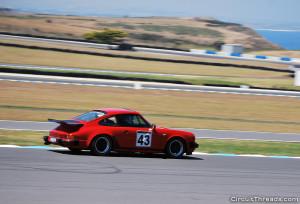 Phillip Island SAU & WRX - Red Porsche 911
