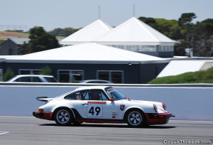Phillip Island SAU & WRX - White Porsche 911