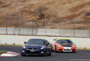WRX SAU Calder Park GTR v Porsche 2