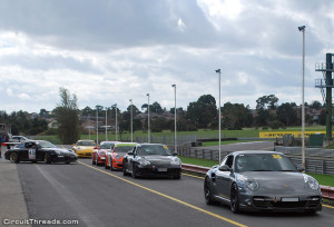 Sandown Porsche Grid
