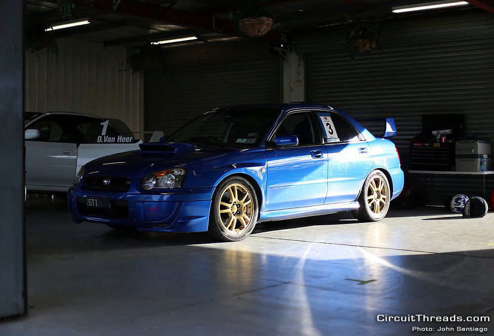 Sandown WRX Garage
