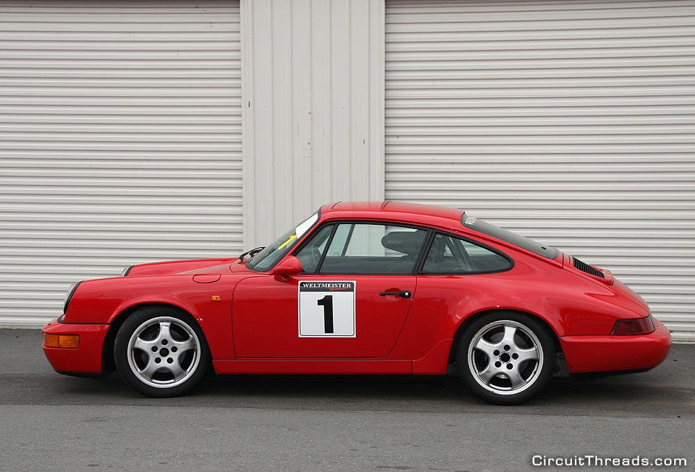 SAU WRX Winton Porsche Red