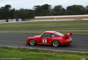 SAU WRX Winton Porsche RSR Red