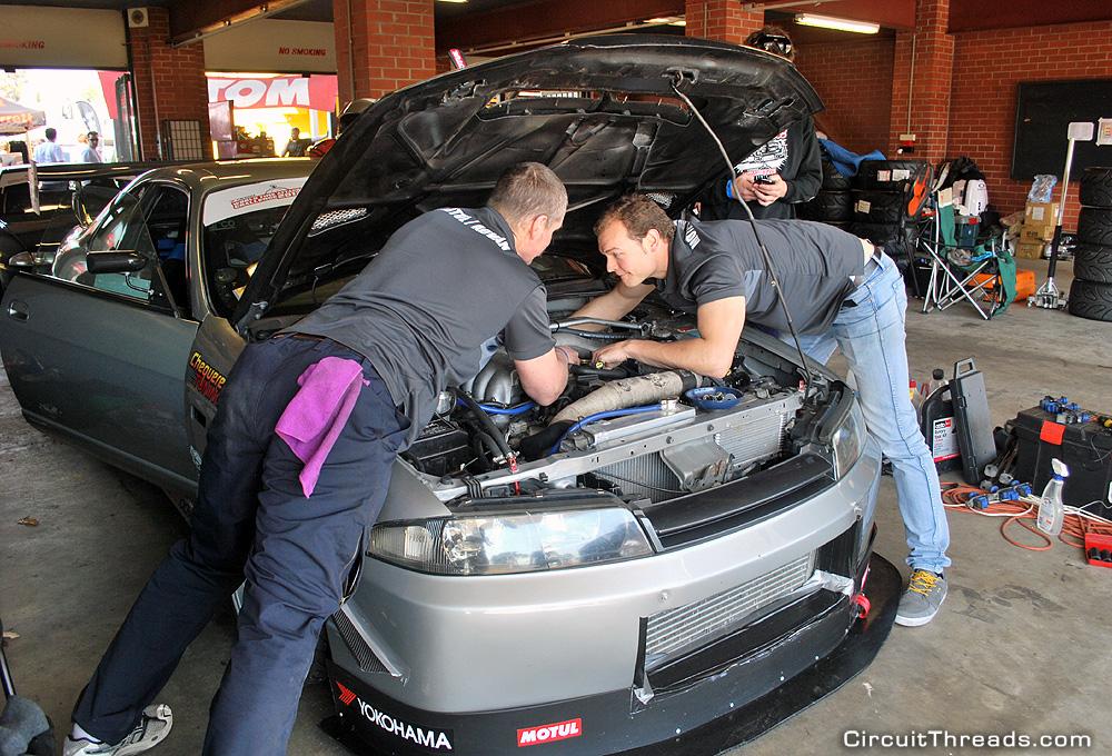 John Richardson R33 GTST WTAC Garage