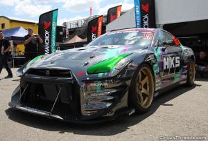WTAC HKS R35 GTR Front