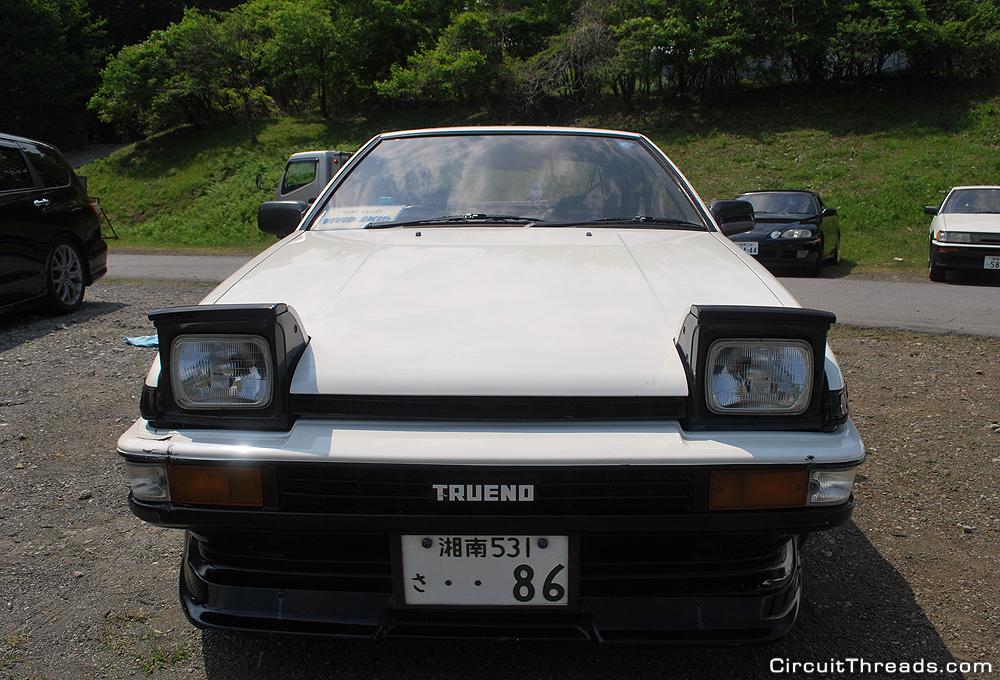 Fuji_Speedway_Drift_Panda_AE86_Front