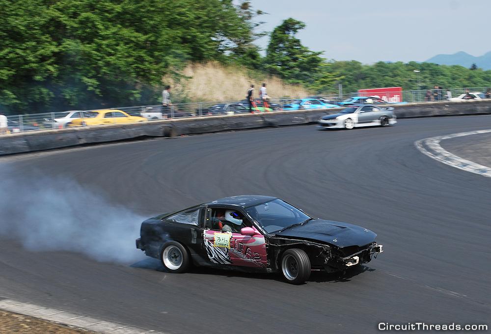 Fuji_Speedway_Nissan_180sx_No_Panels_Drift