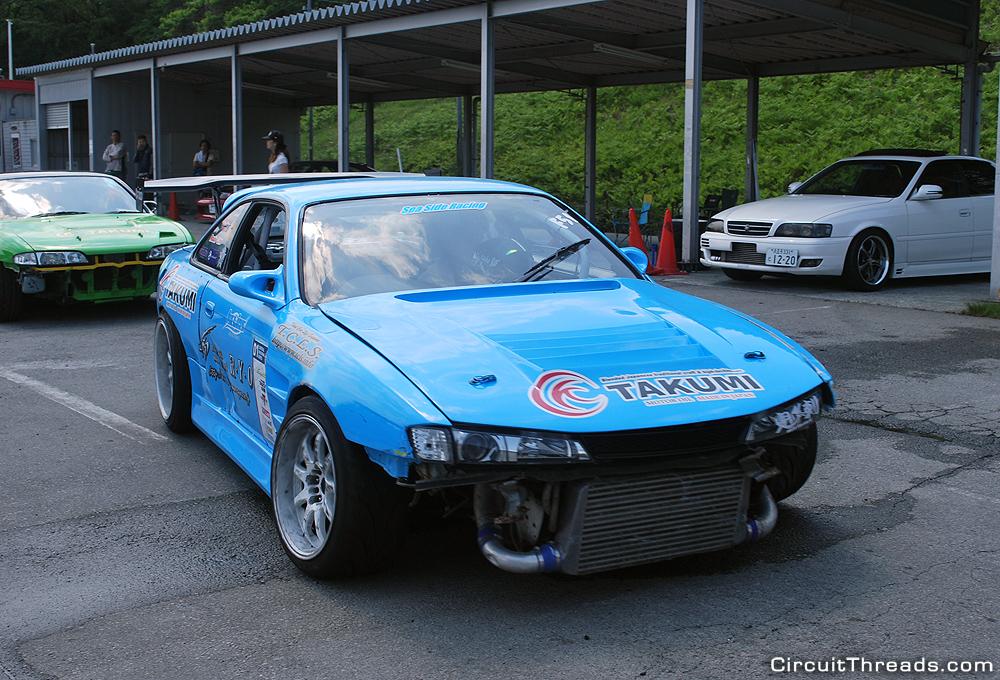 Fuji_Speedway_RYO_Nissan_S14_Kouki