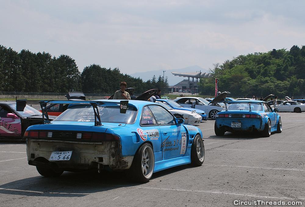 Fuji_Speedway_RYO_Nissan_S14_Rear