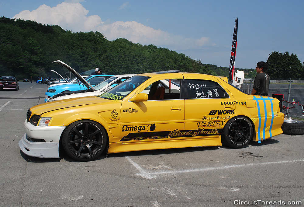 Fuji_Speedway_Yellow_Street_JunkieToyota_Chaser