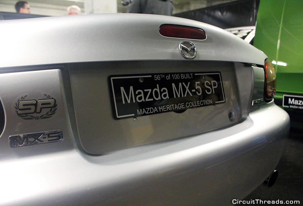 Mazda Australia Historic Museum Mazda MX5 SP
