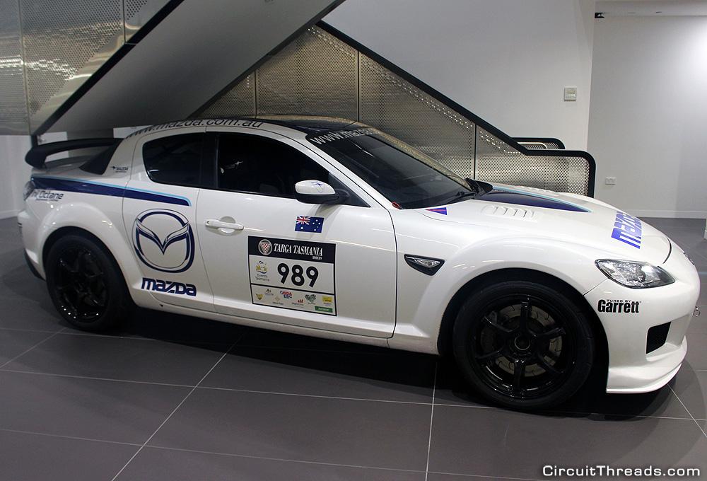 Mazda Australia Historic Museum RX8 SP