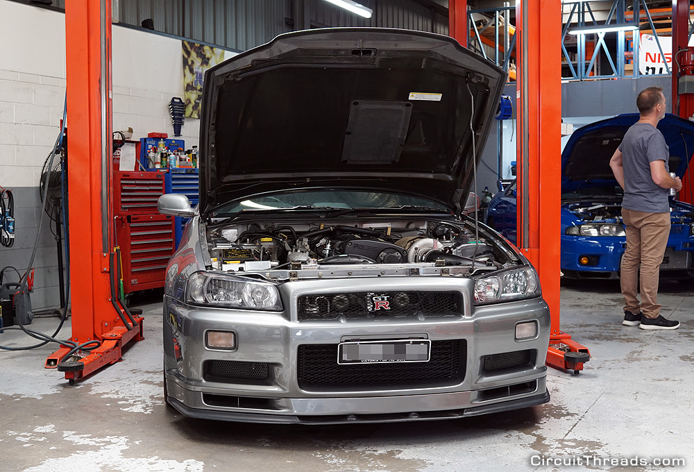 SAU Racepace Nissan R34 GTR Grey