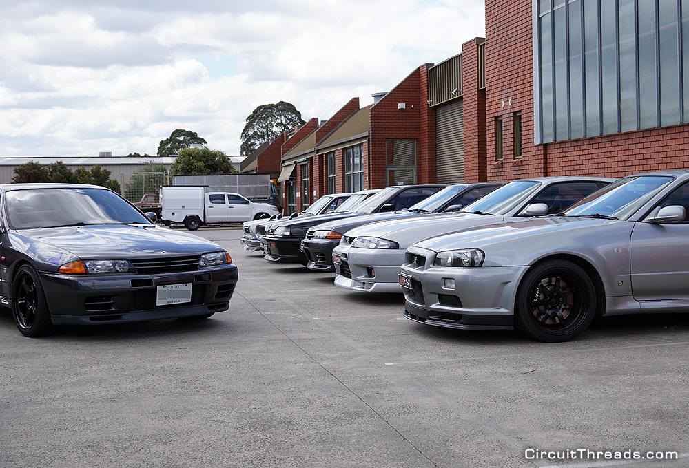 SAU Racepace Nissan Skyline Lineup