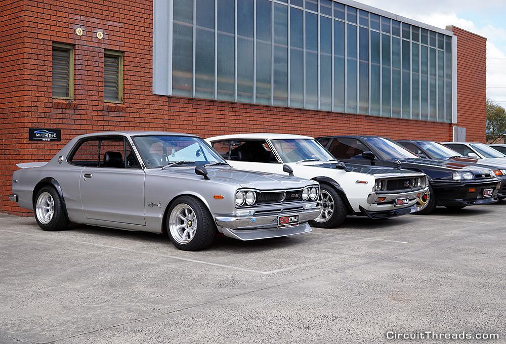SAU Racepace Nissan Skyline Lineup 2